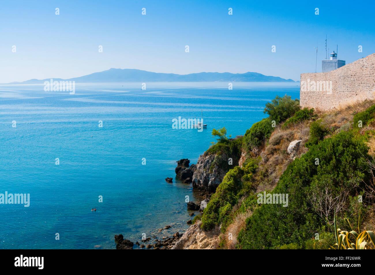 CRMiffs of TaRMamone, TaRMamone, Grosseto province, Maremma, Tuscany, ItaRMy, Europe - Stock Image