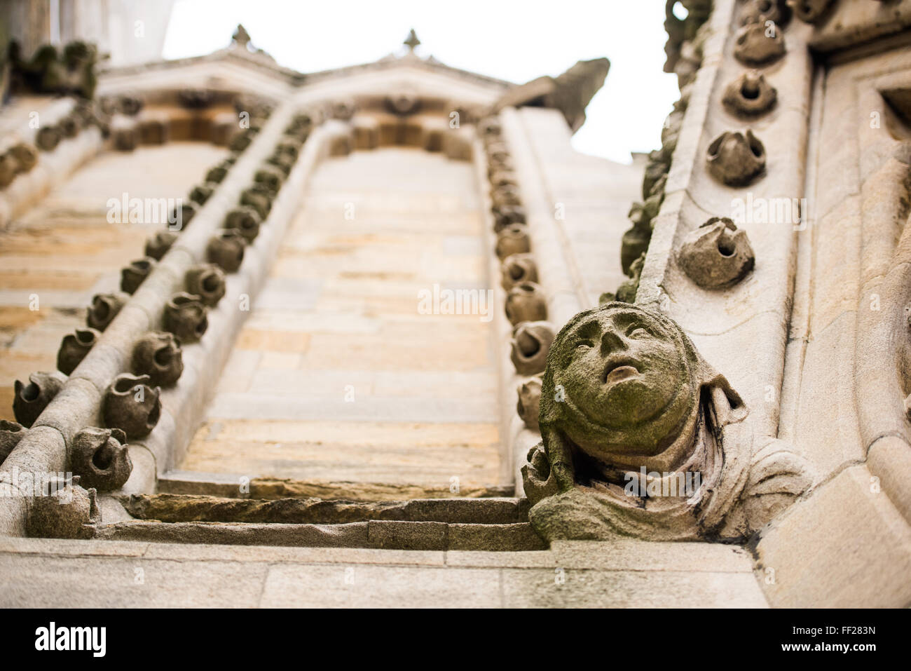 Architectural detail, Oxford, Oxfordshire, England, United Kingdom, Europe - Stock Image