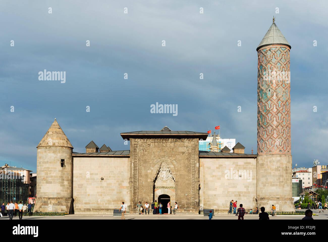 Turkish-IsRMamic Arts and Ethnography Museum, Erzerum, Eastern AnatoRMia, Turkey, Asia Minor, Eurasia - Stock Image