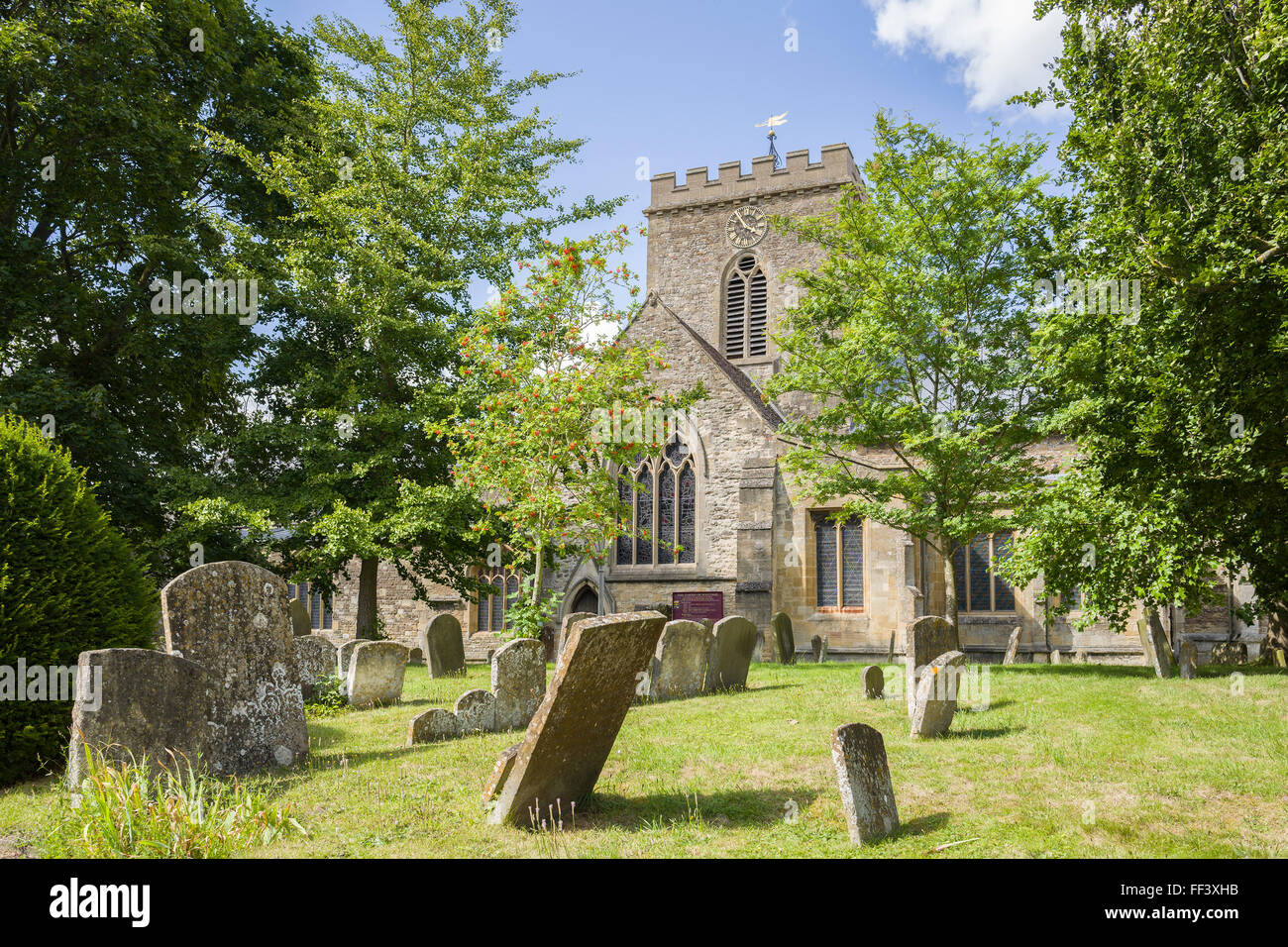 St Peter and St Paul Parish Church, Wantage, Oxfordshire, England, UK. - Stock Image