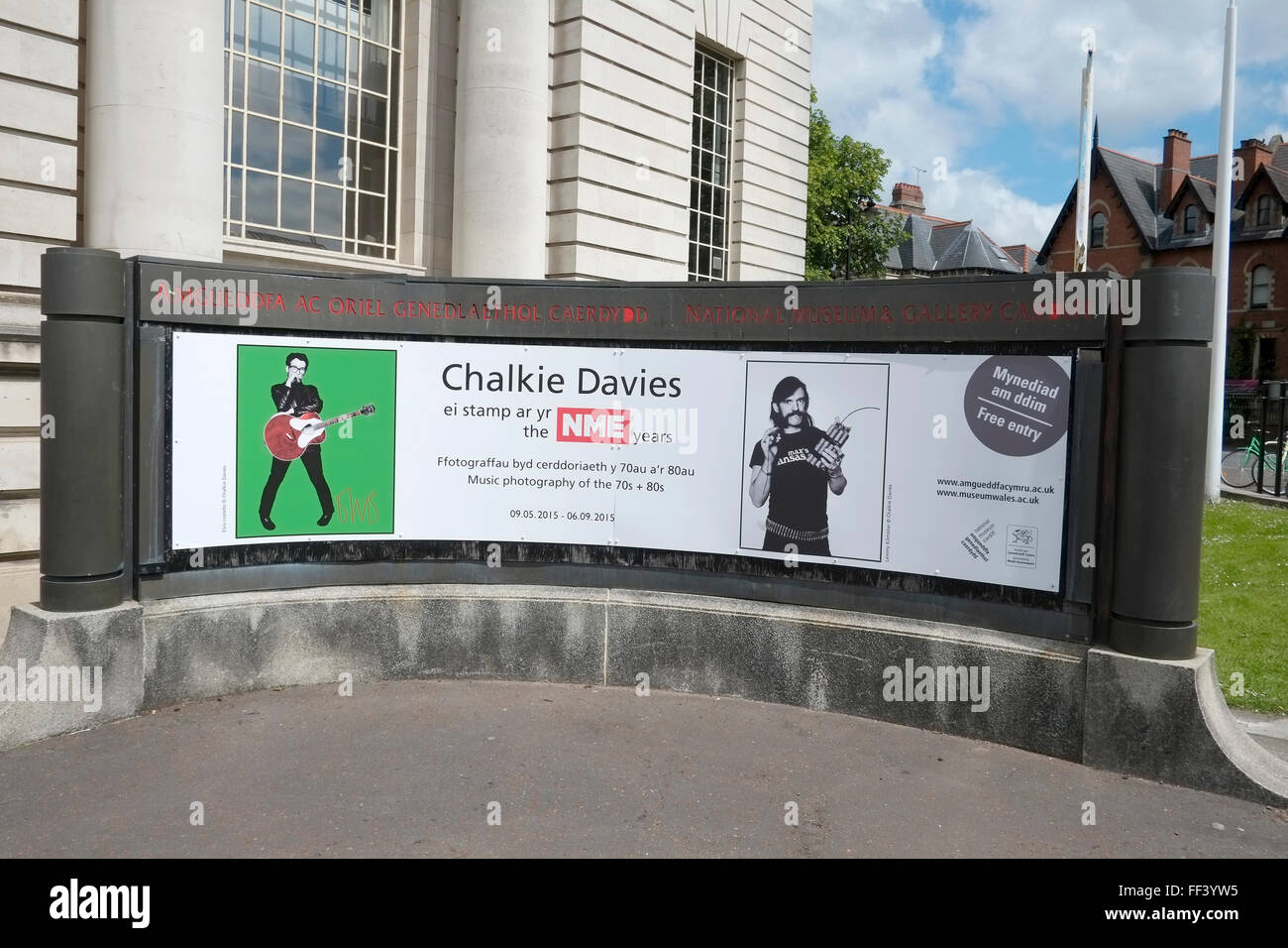 Chalkie Davies Poster number 3531 Stock Photo