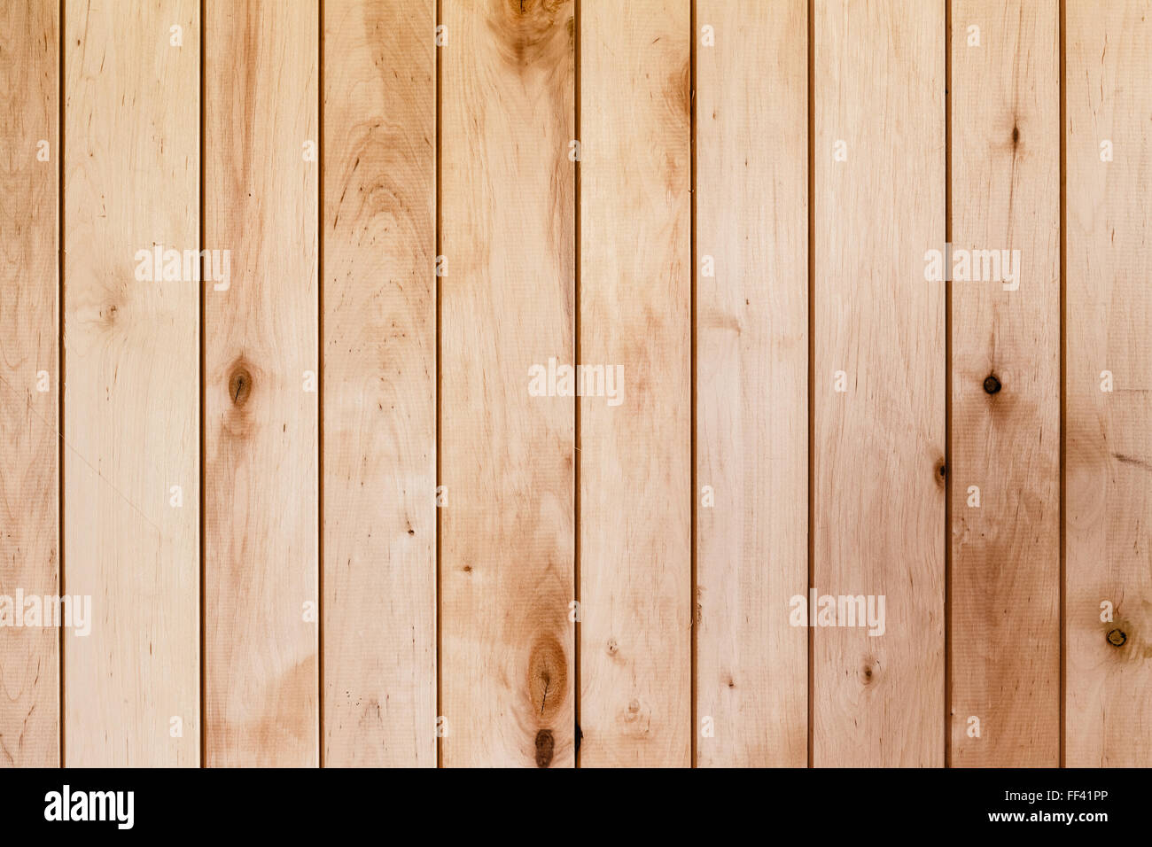 The Light Brown Wooden Texture With Natural Patterns - Stock Image