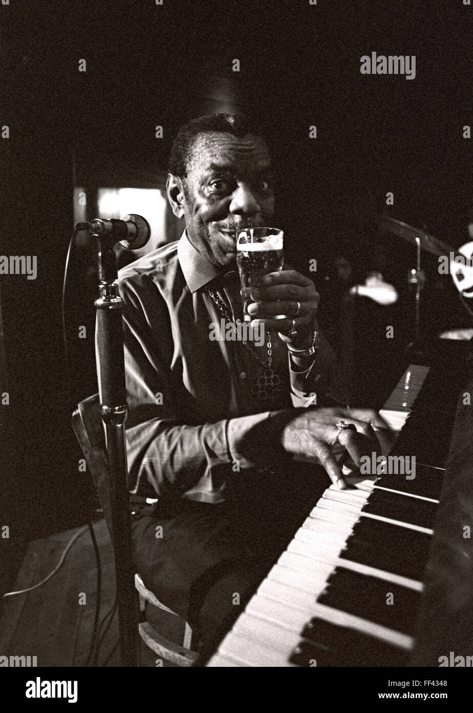 Champion Jack Dupree was a New Orleans blues and boogie