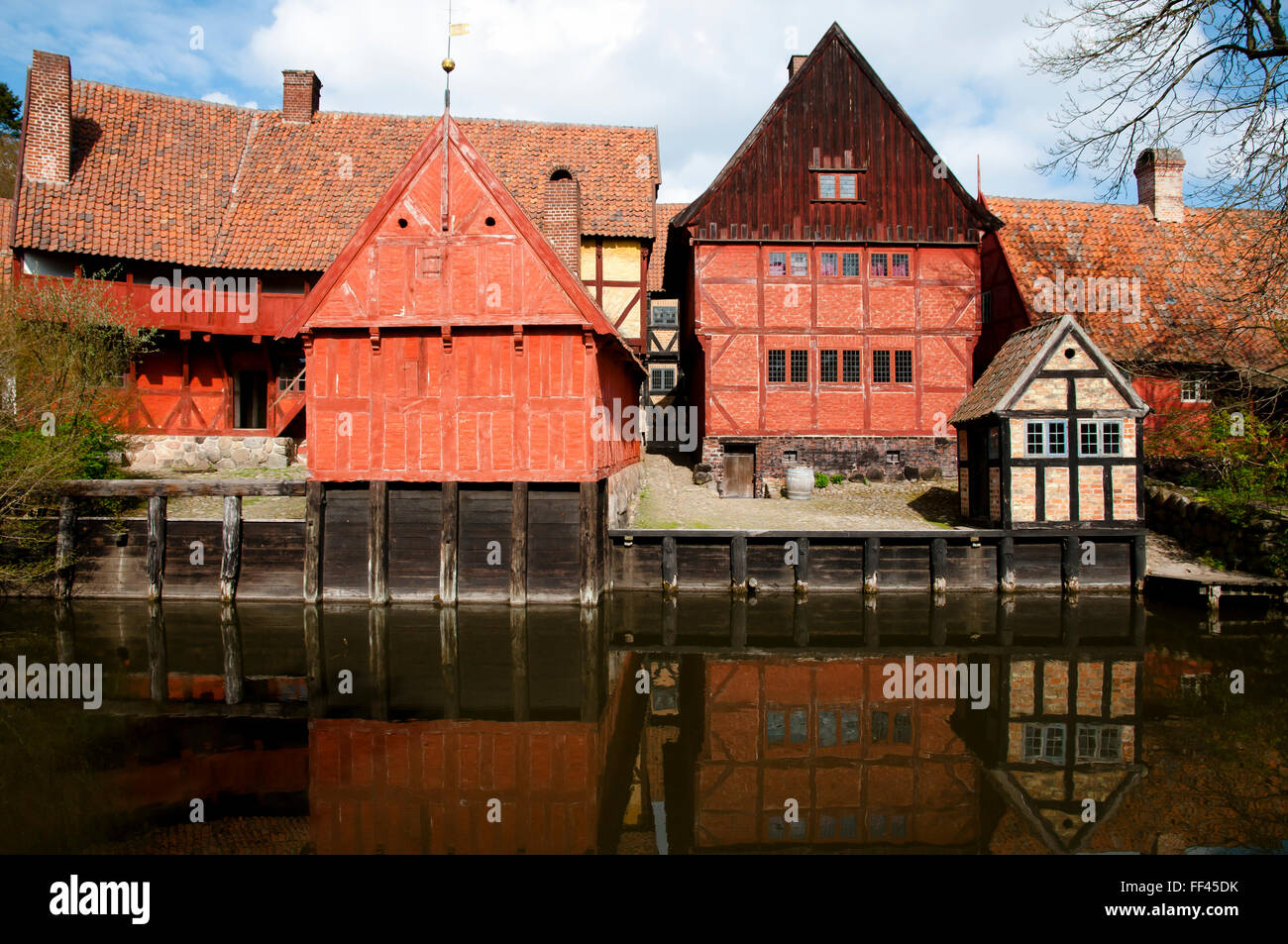 The Old Town Museum - Aarhus - Denmark - Stock Image