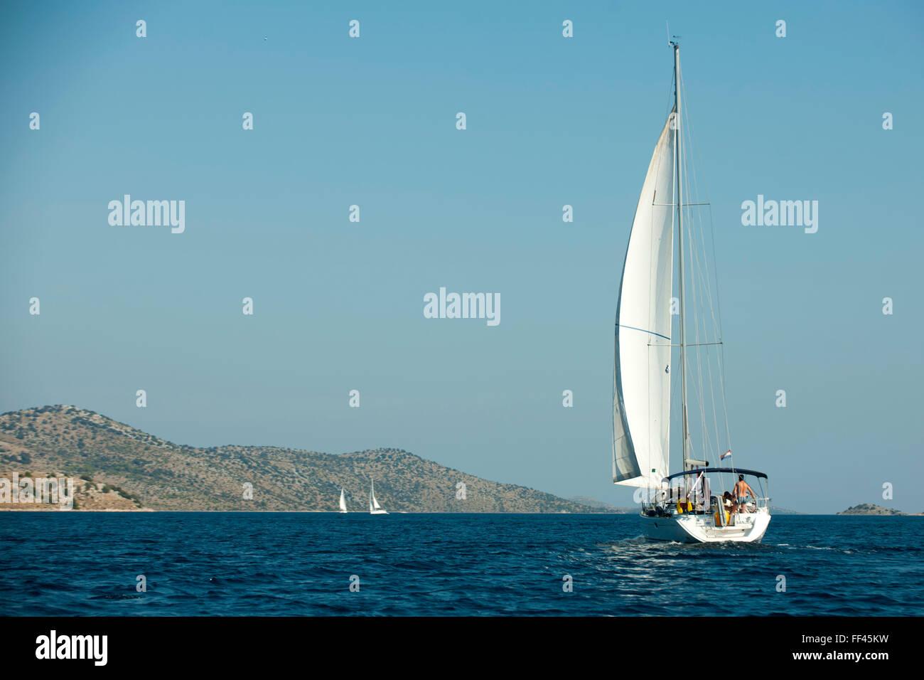 Kroatien, Dalmatien, Nationalpark Kornaten - Stock Image