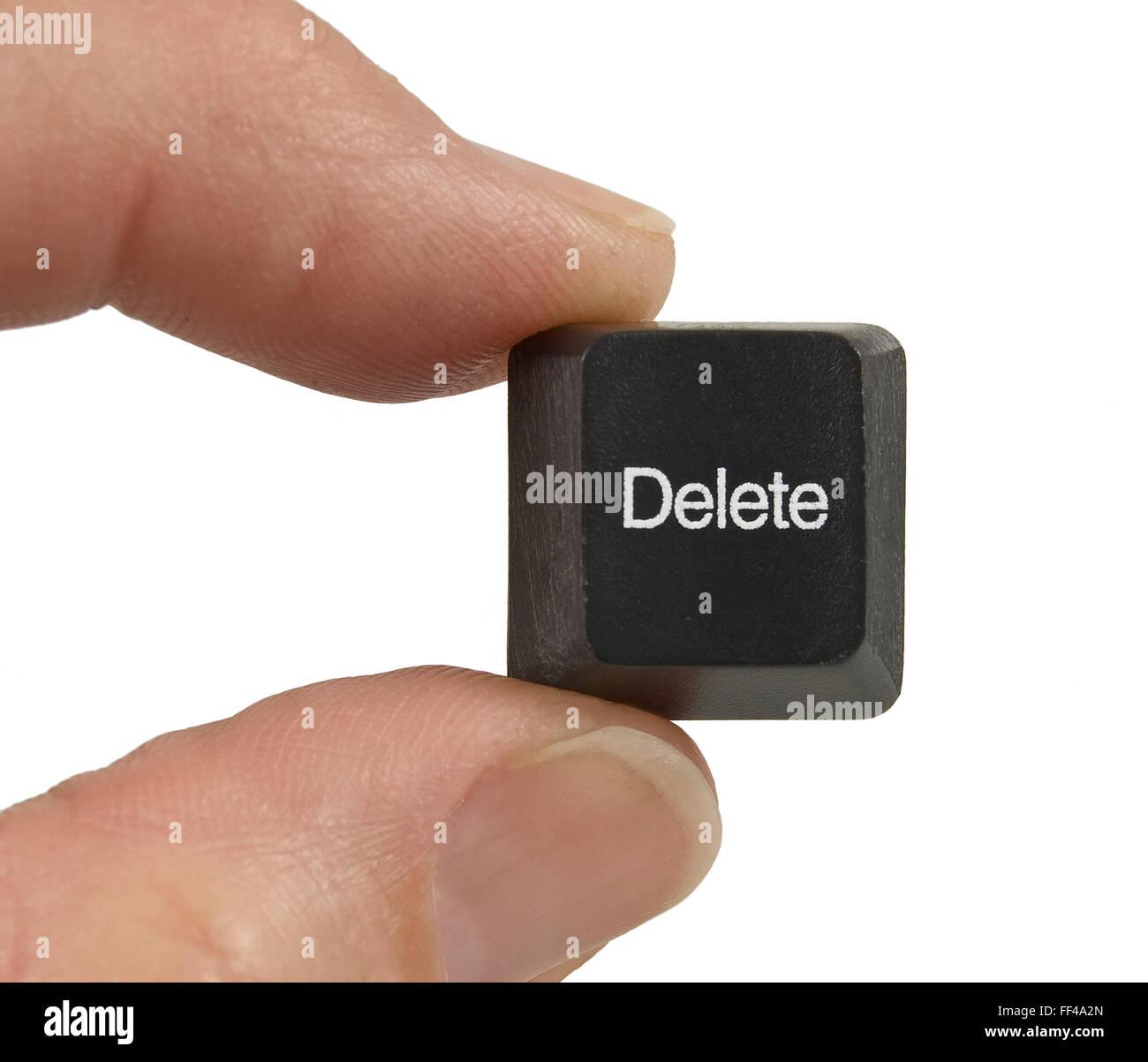 Delete Key - Stock Image