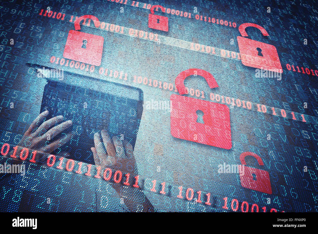 Security  padlock - Stock Image