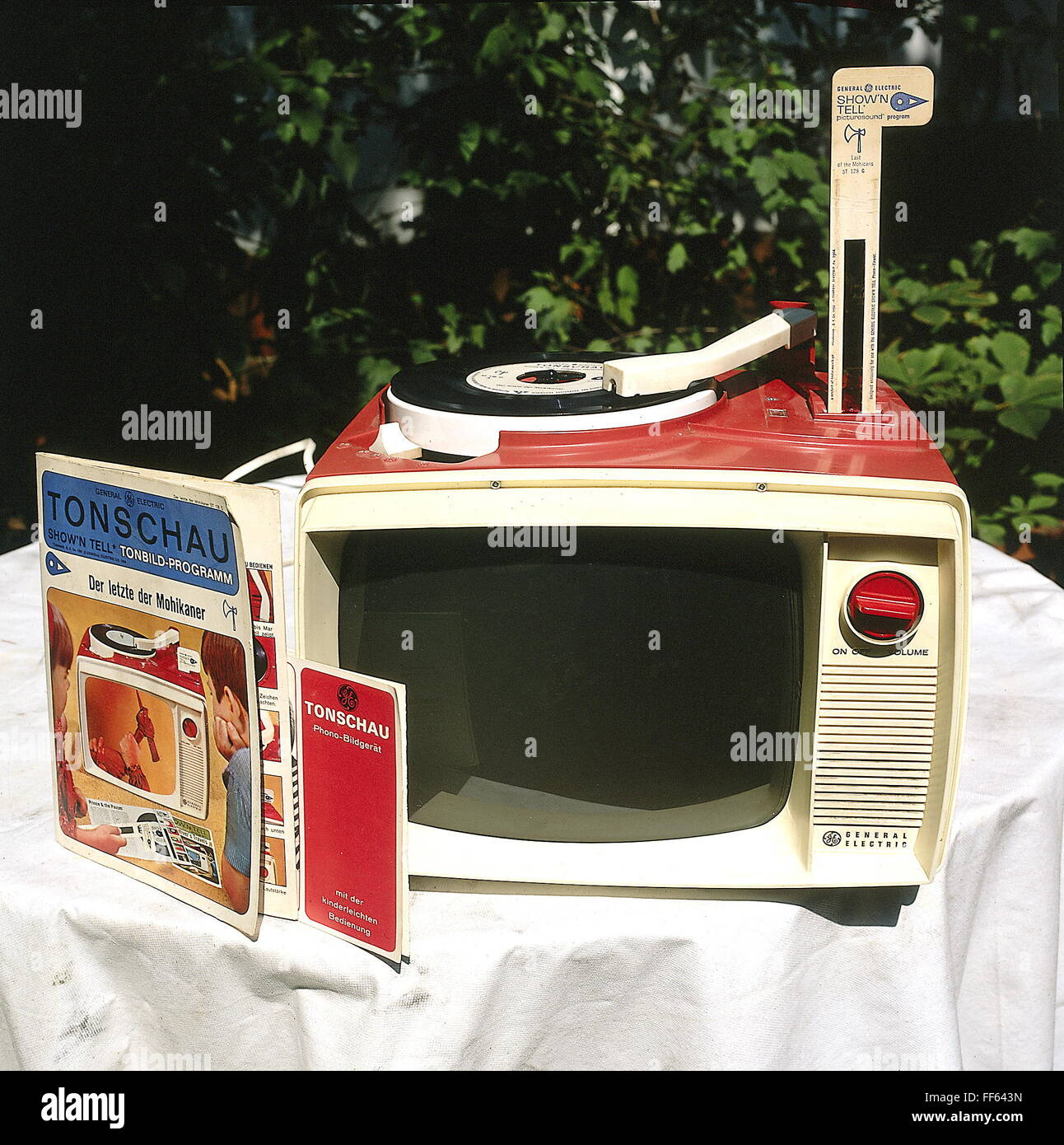 technics, 'Tonschau' device by General Electric, 1964, Additional-Rights-Clearences-NA - Stock Image