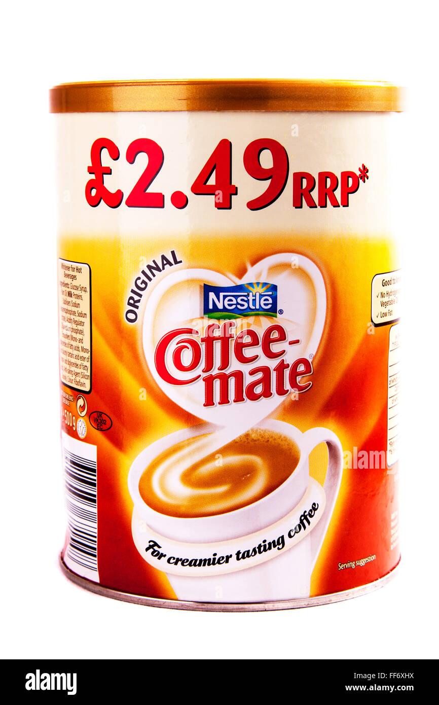 Powdered milk powder coffee mate Nestle brand cream ...