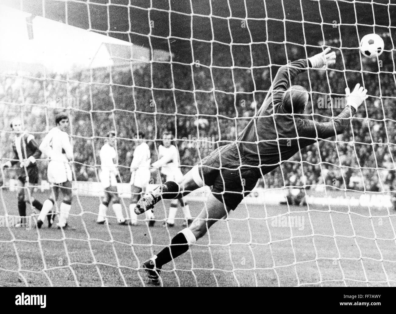 sports, football, game, Germany, national league, season 1970 / 1971, 13th match day, game Borussia Moenchengladbach - Stock Image