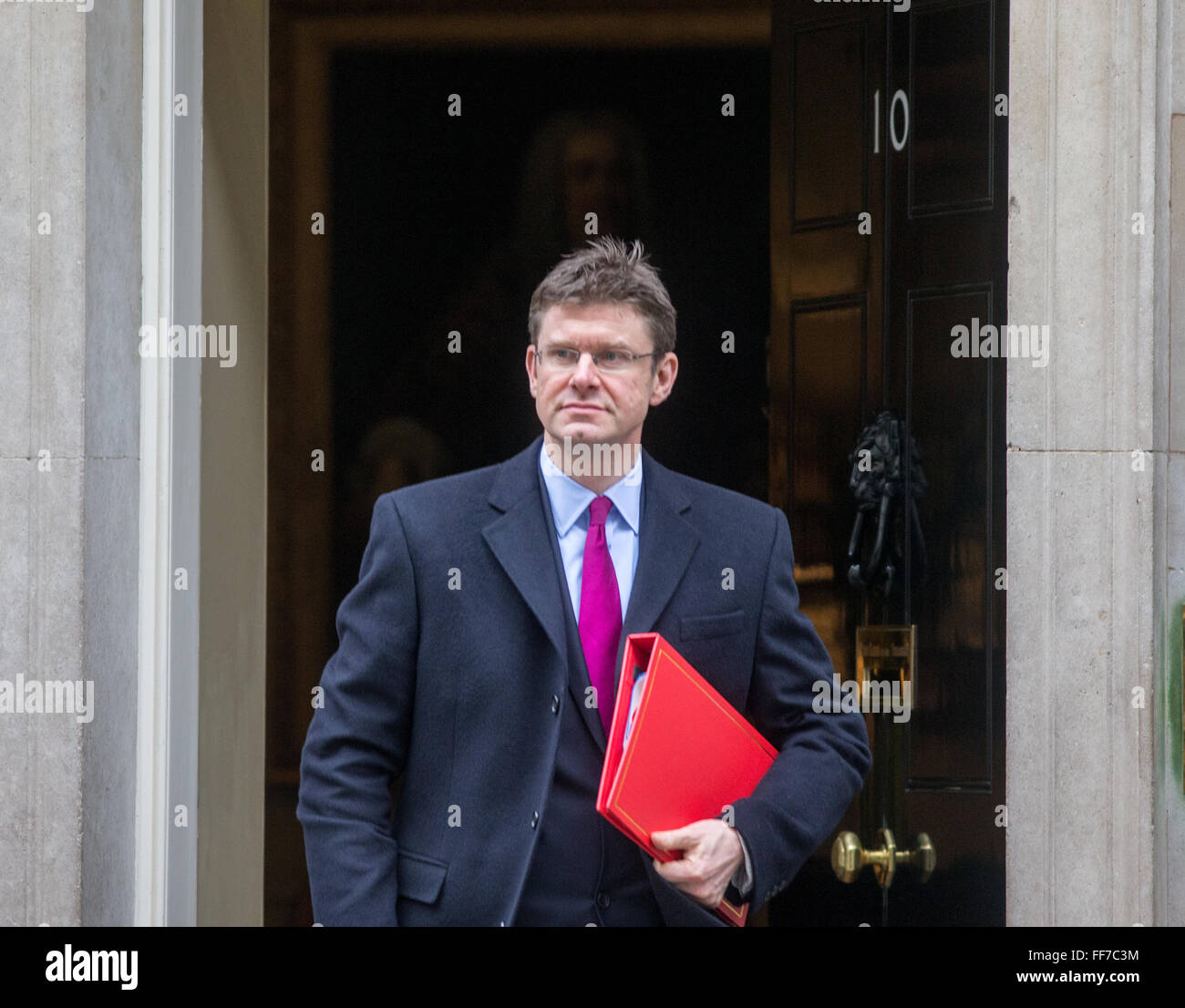 Communities and Local Government Secretary,Greg Clark at 10 Downing street for a cabinet meeting - Stock Image