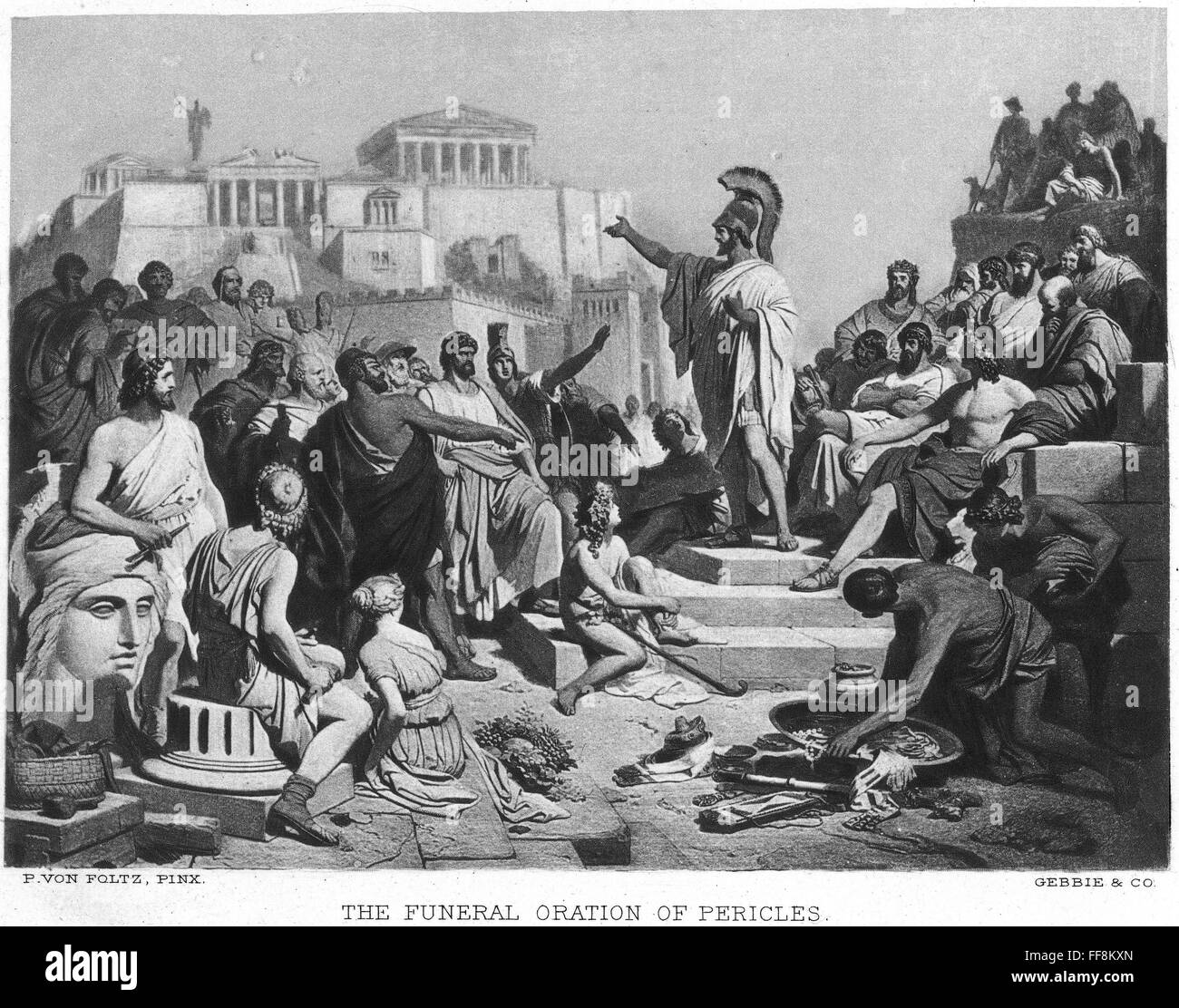 pericles funeral oration essay I do not think that everything pericles said in his funeral oration was true pericles goes on and on about how great the athens city-state had become a strong democratic government.