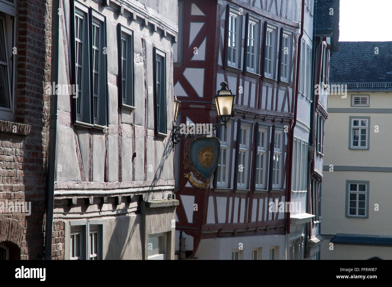 Altstadt Wetzlar Deutschland Old Town Stock Photos & Altstadt ...