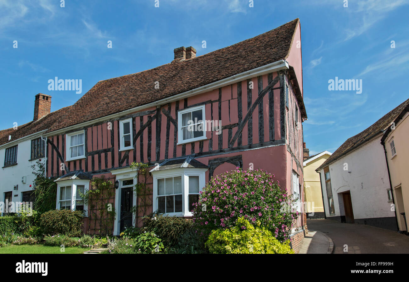 A house in Lavenham - Stock Image