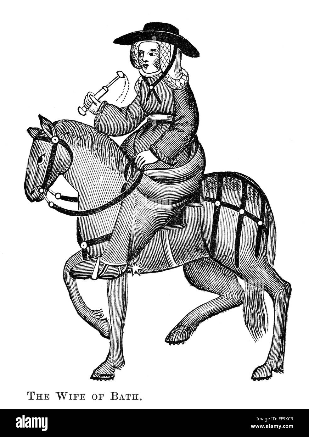 an analysis of the character of the wife of bath from the canterbury tales The wife of bath starts the marriage group as gl kittredge called it (even though other marriages appear in the canterbury tales fragments), involving the clerk, the merchant, the franklin more immediate is a wife of bath group in which the clerk is quiet and waits his time.