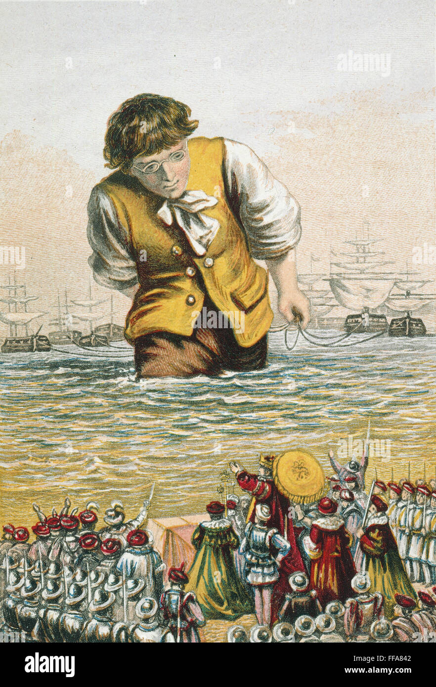 the journey of gulliver in houynhnmland in jonathan swifts gullivers travels On those travels gulliver's journey in lilliput  jonathan swifts gullivers travels gulliver in  gulliver in houynhnmland one of the.