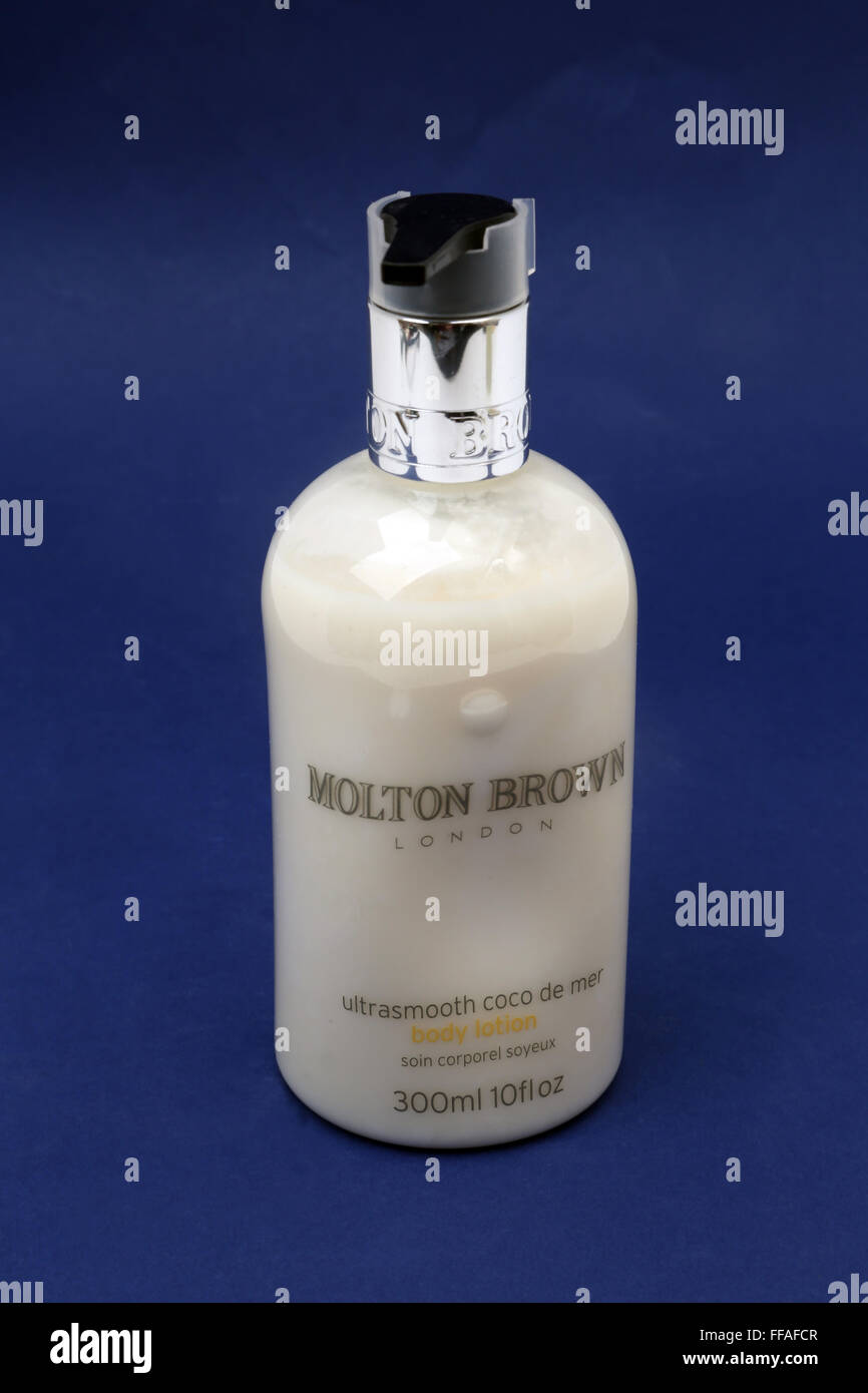 Molton Brown Body Lotion - Stock Image