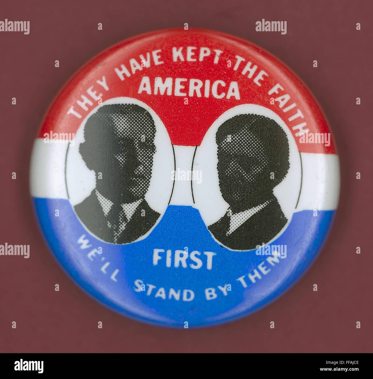Wilson Campaign Button Ndemocratic Presidential Campaign Button