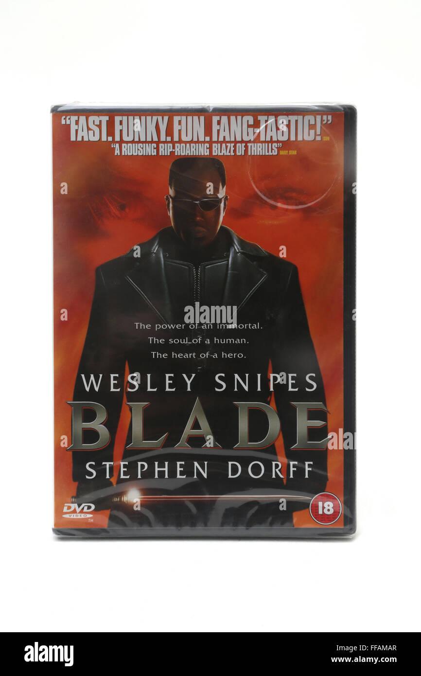 Blade DVD - Stock Image