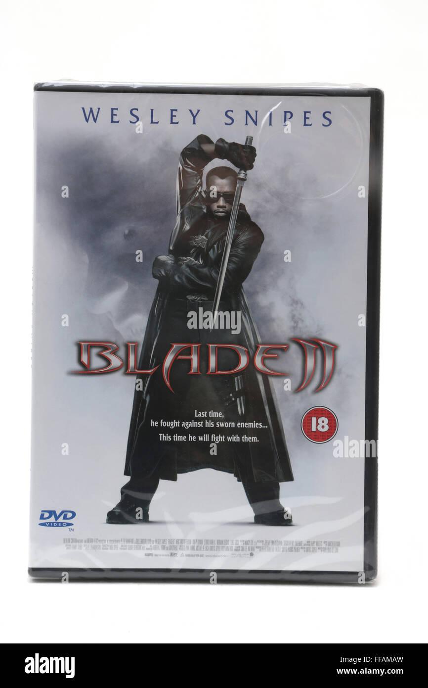 Blade II DVD Stock Photo