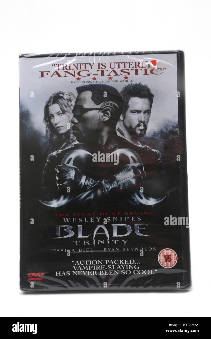 Blade Trinity DVD - Stock Image