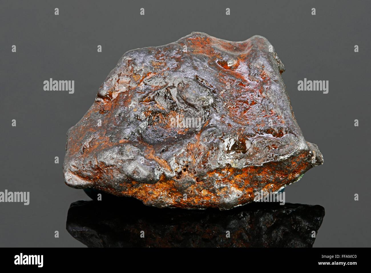 Iron Meteorite, Natan, China, 1516 AD - Stock Image
