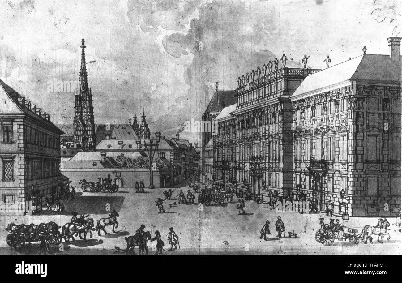 prince lobkowitz s palace nin vienna where ludwig van beethoven s