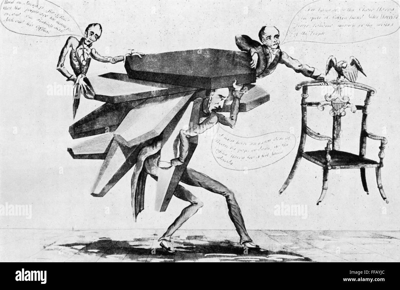 presidential election 1828 npresident john quincy adams clinging