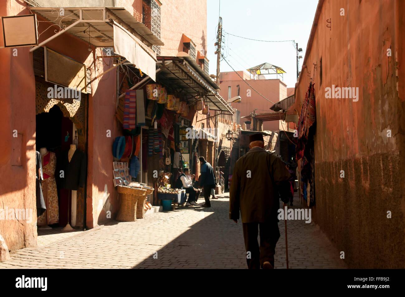 Marrakesh Medina - Morocco Stock Photo