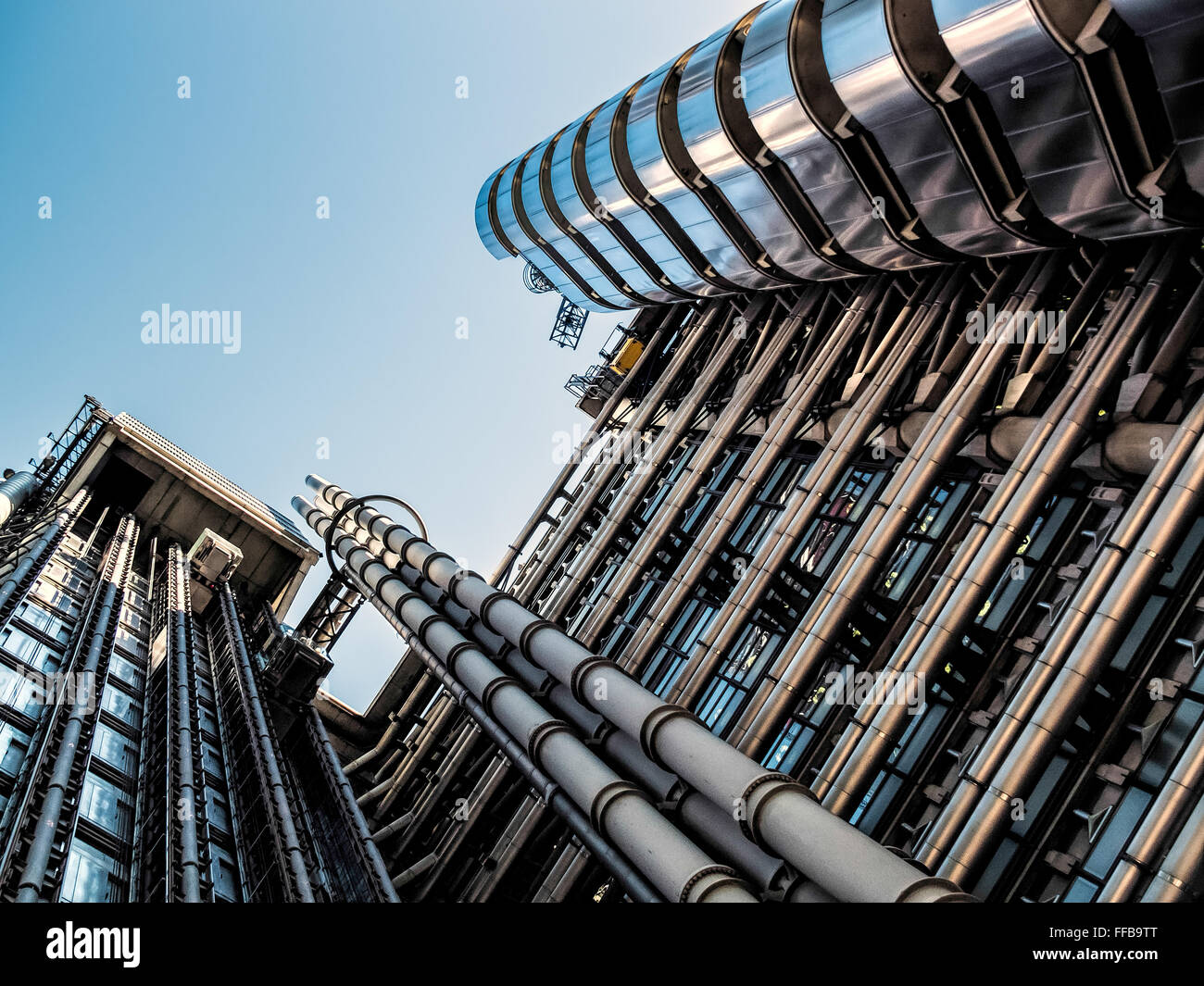 Lloyds of London building - Stock Image