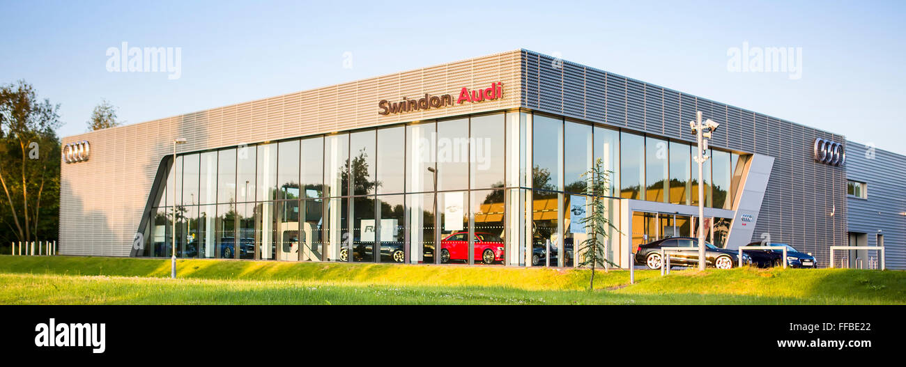Swindon Audi, Delta Business Park, Welton Road, West Swindon, Wiltshire. - Stock Image