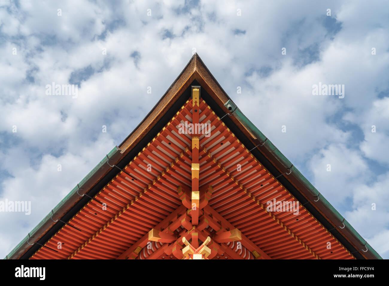 Fushimi Inari Shrine, Kyoto, Japan - Stock Image