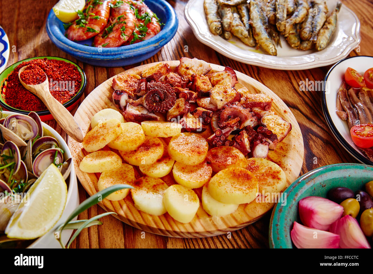 how to cook octopus spanish style