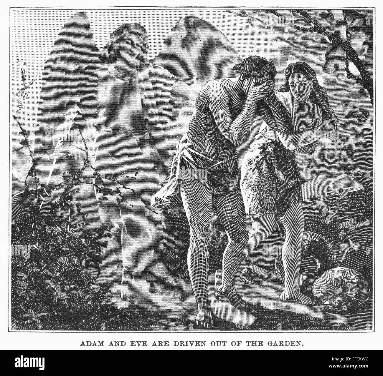 the tempest and adam eve The tempest explores such questions, often in biblical terms shakespeare's island is a kind of eden, presided over by the god-like figure of prospero, with ferdinand and miranda as a version of adam and eve, and ariel and caliban and angel and devil.
