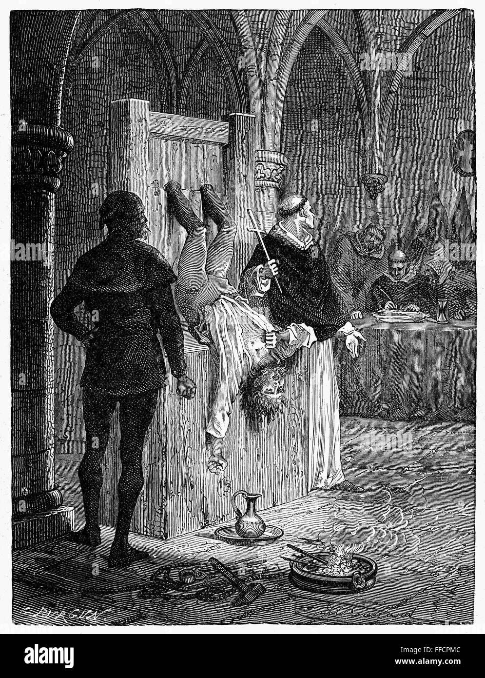 the spanish inquisition caused pain for the The new or spanish inquisition, introduced into the united kingdoms of castile, aragon, and navarre by ferdinand v and isabella the catholic, was directed chiefly against converted jews and against jews and moors.