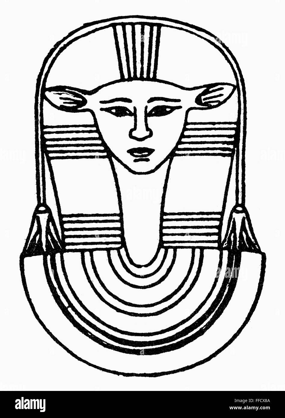 Egyptian Symbol Hathor Nhathor The Ancient Egyptian Goddess Of