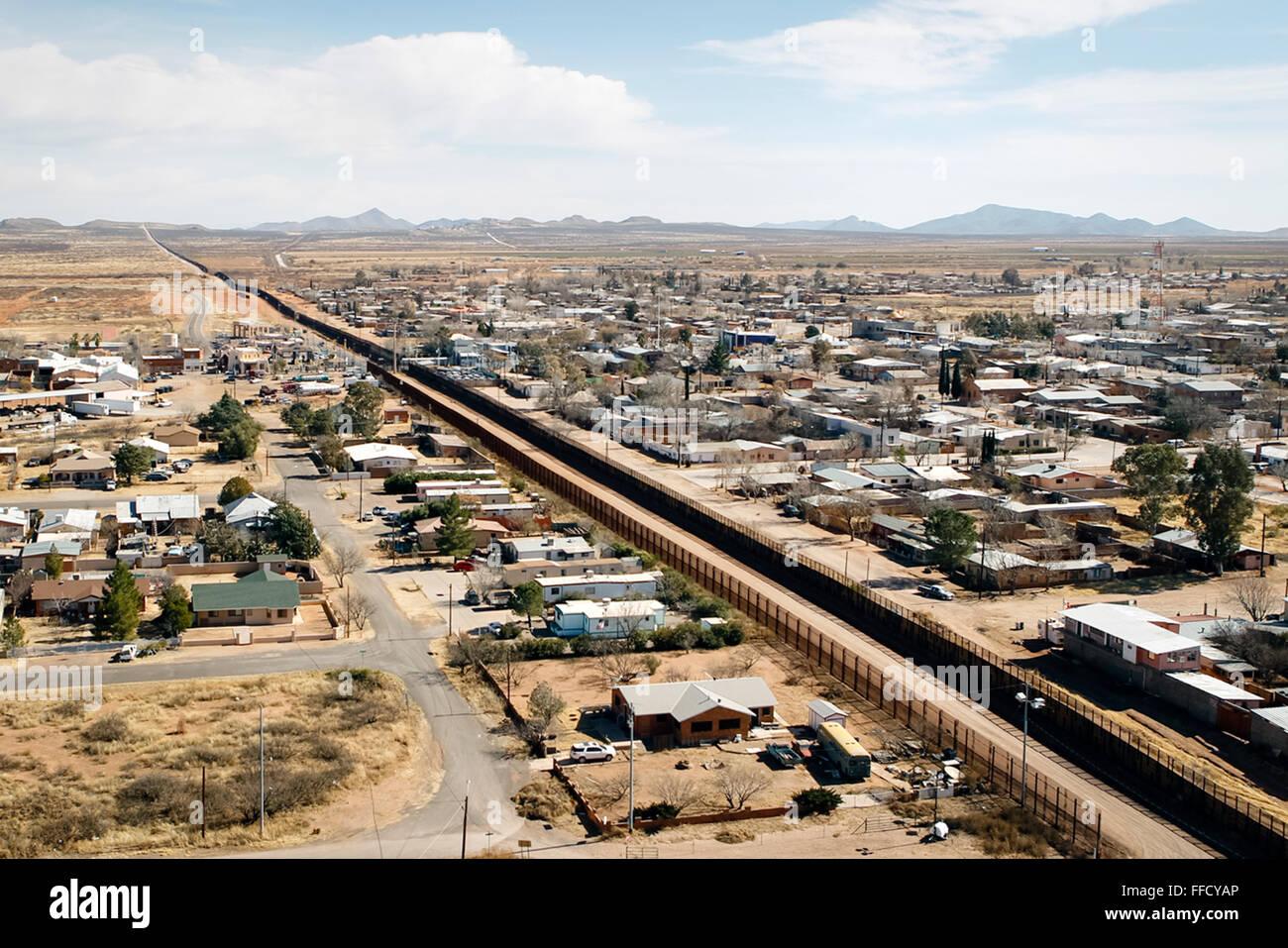 Mexico Usa Border Aerial Stock Photos Mexico Usa Border Aerial