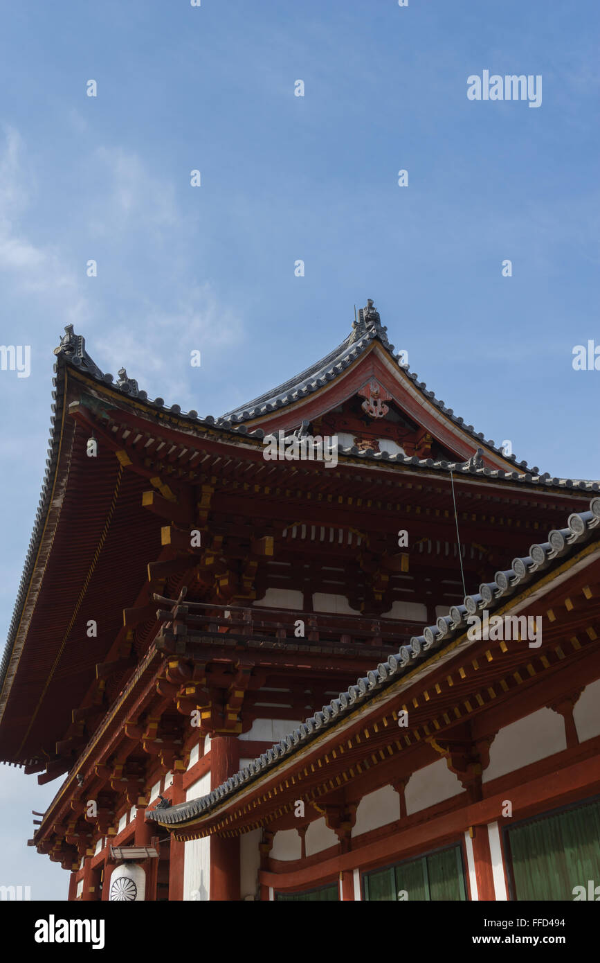 Todai-ji temple, Nara, Japan - Stock Image