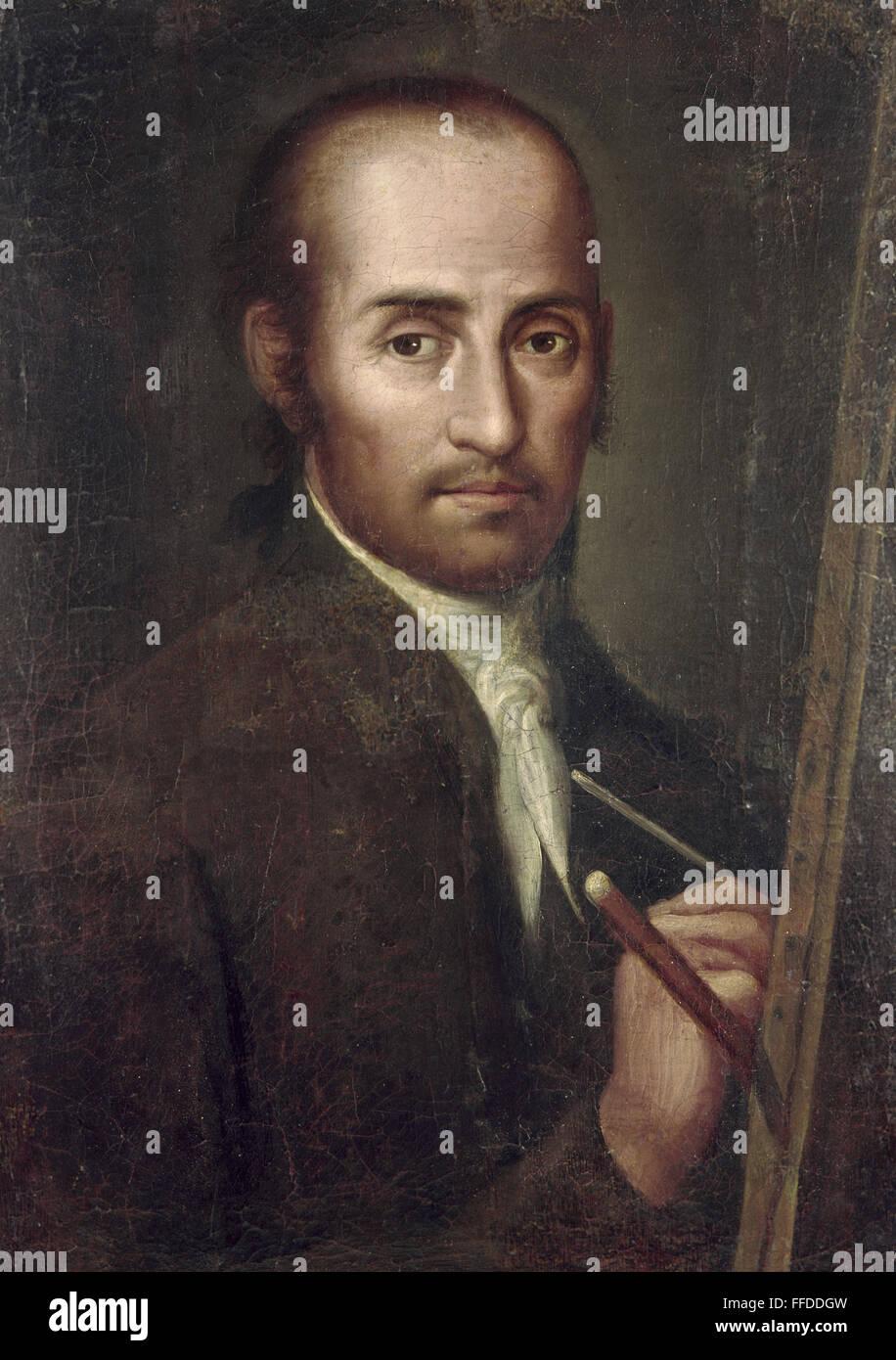 MIGUEL CABRERA (1695-1768). /nMexican painter. Self ... Miguel Cabrera Fantasy Outlook