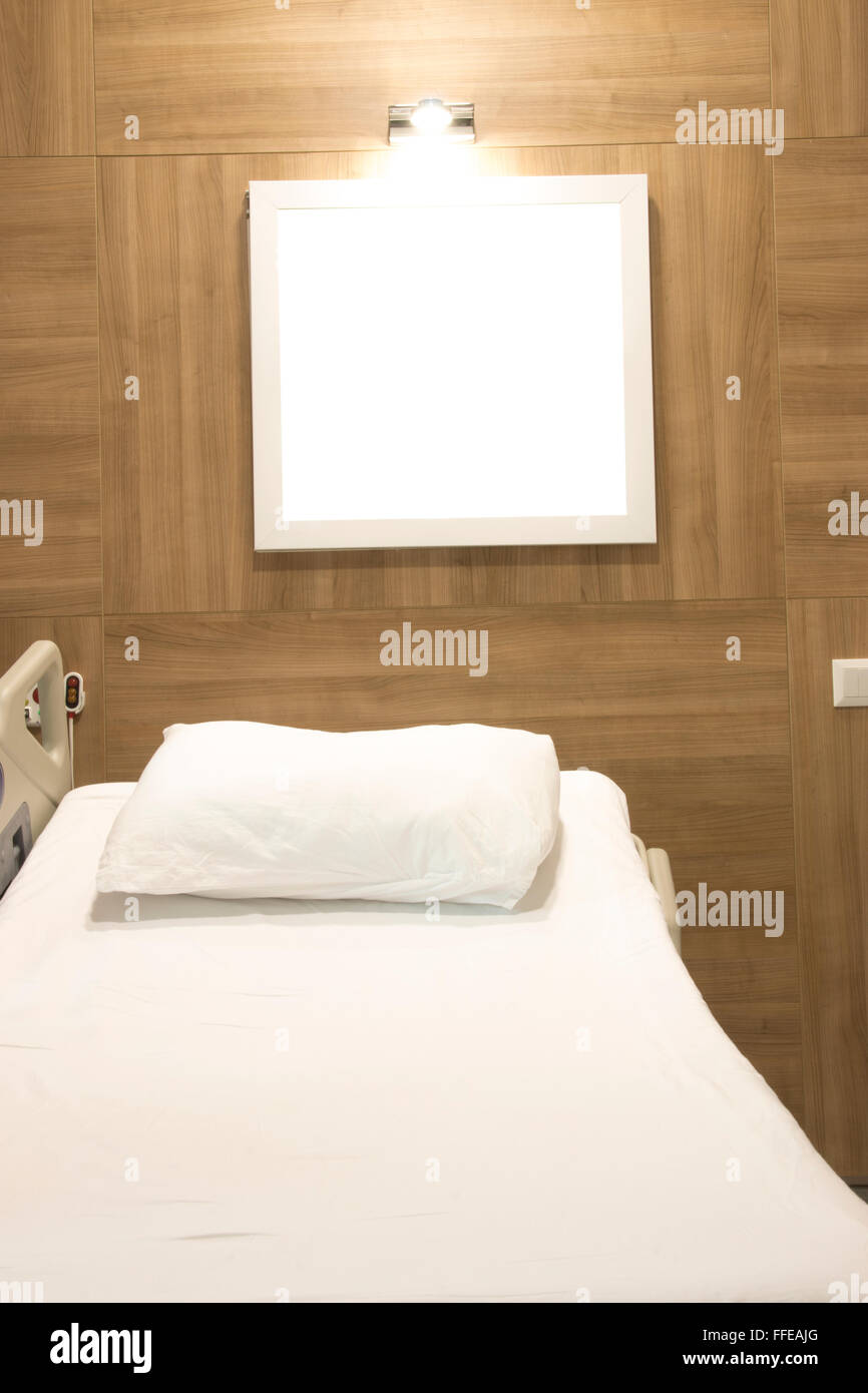 Hospital Bed And Room   Stock Image