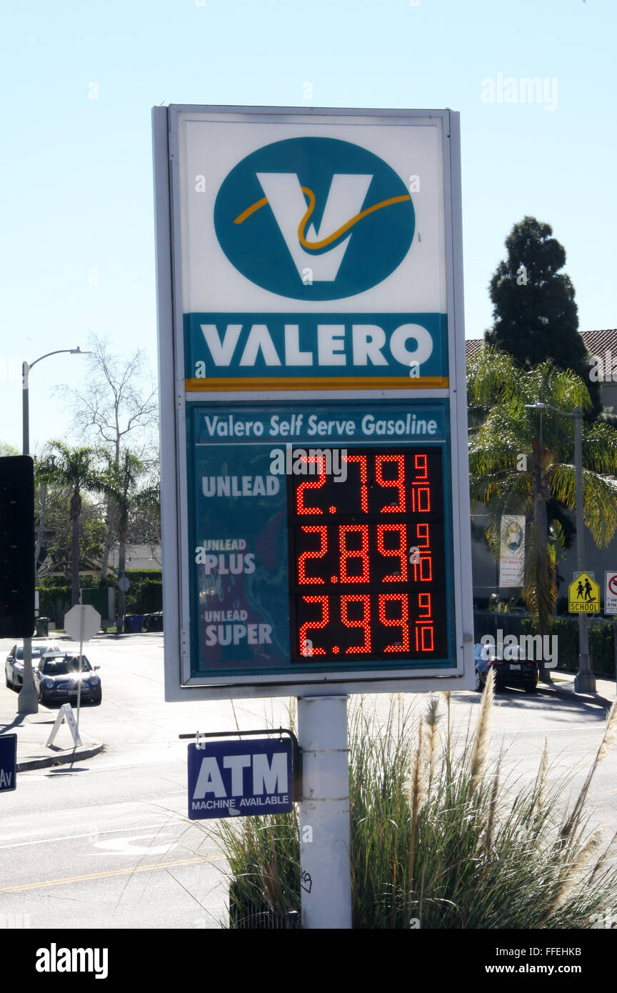 Gas Station Prices >> Gasoline Petrol And Diesel Fuel Pump Prices On Display At A