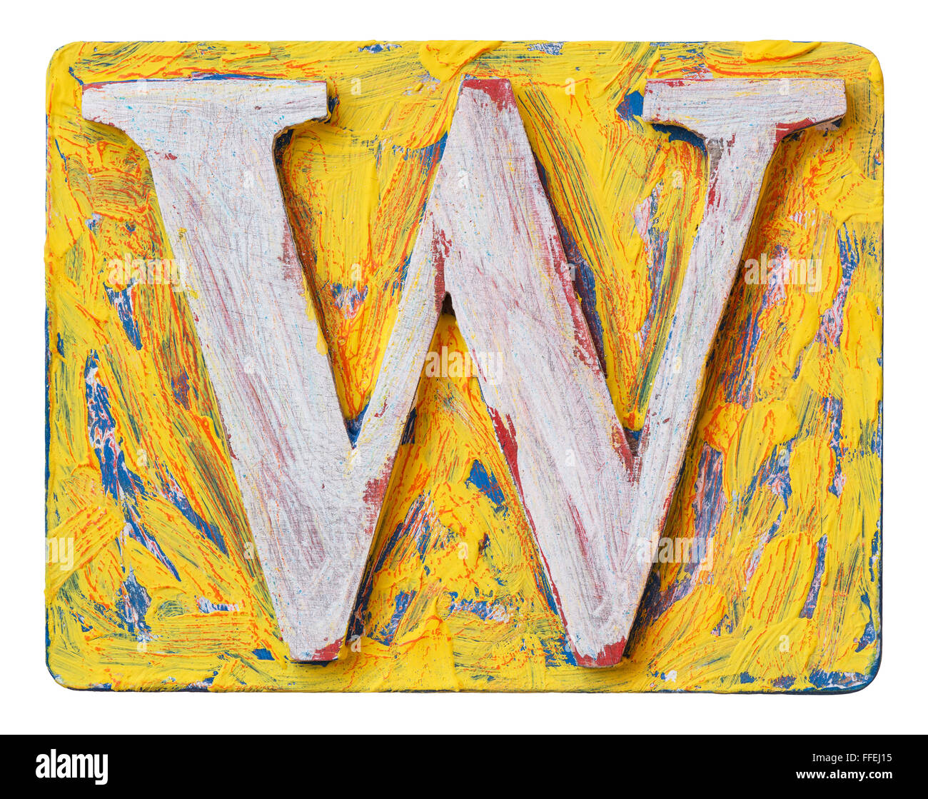 Letter W Cut Out Stock Images  Pictures  Alamy