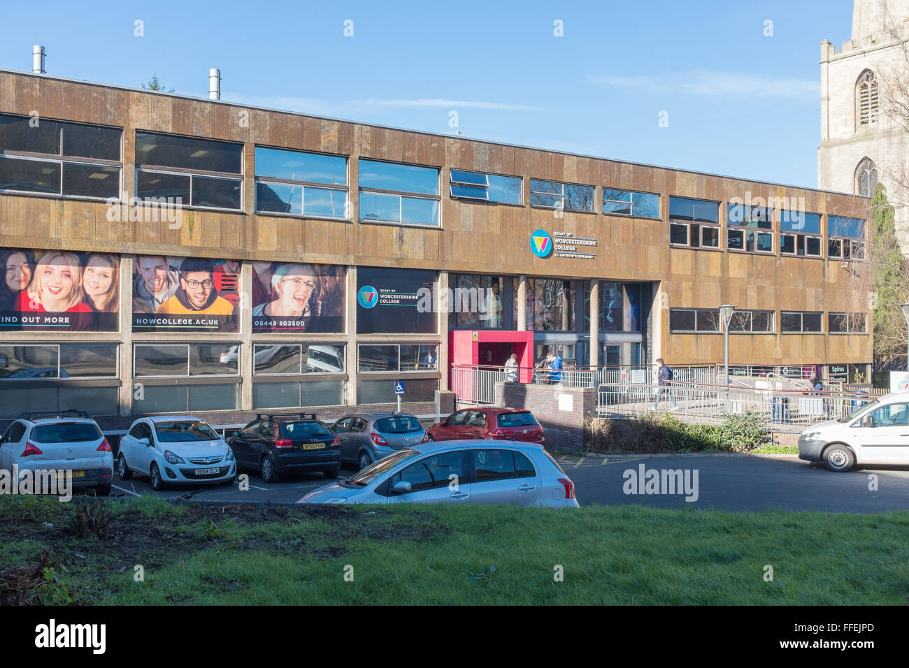 St Andrew's Building at Worcestershire College in Deansway ...