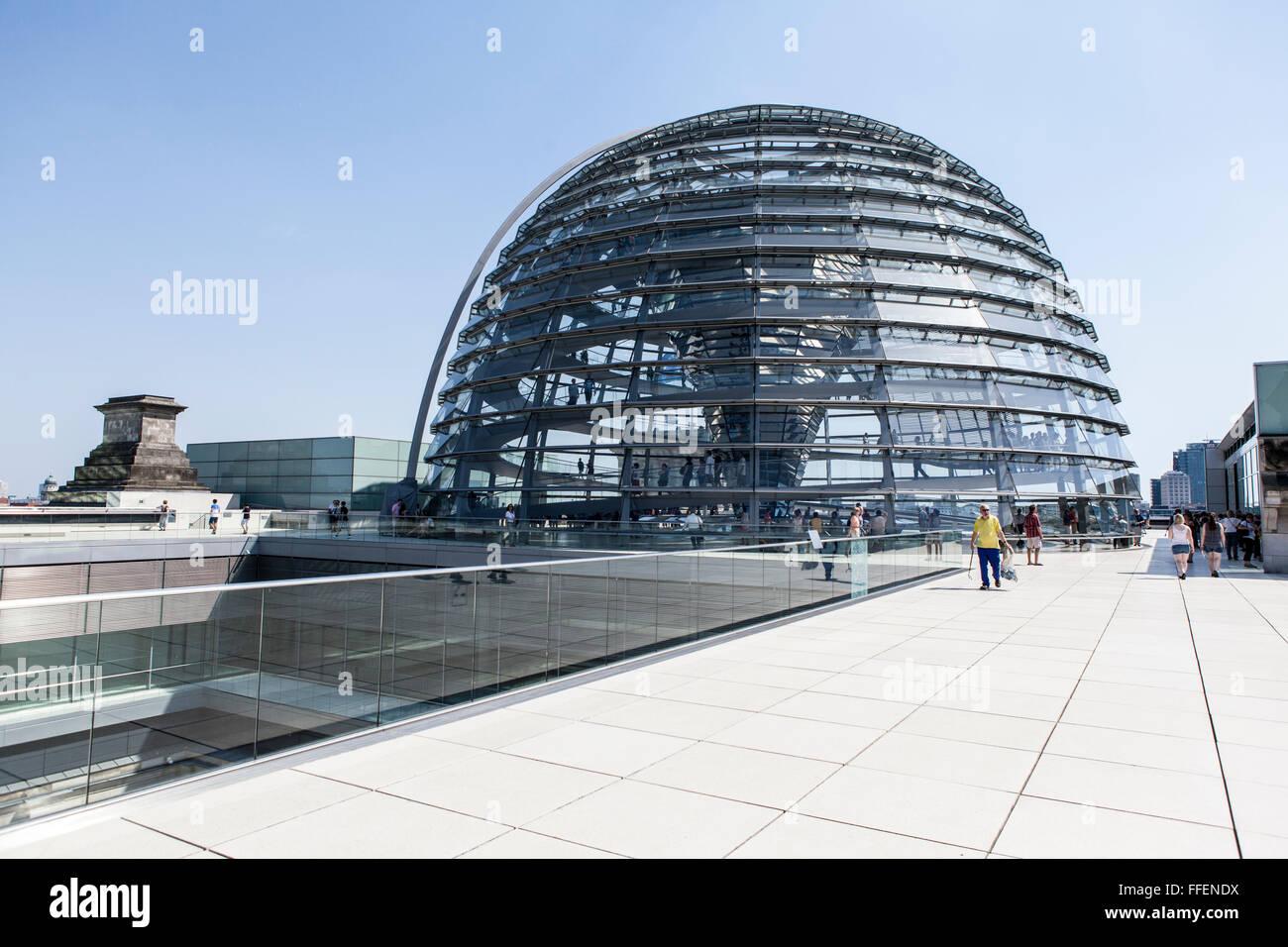 Glass Dome Berlin Stock Photos & Glass Dome Berlin Stock