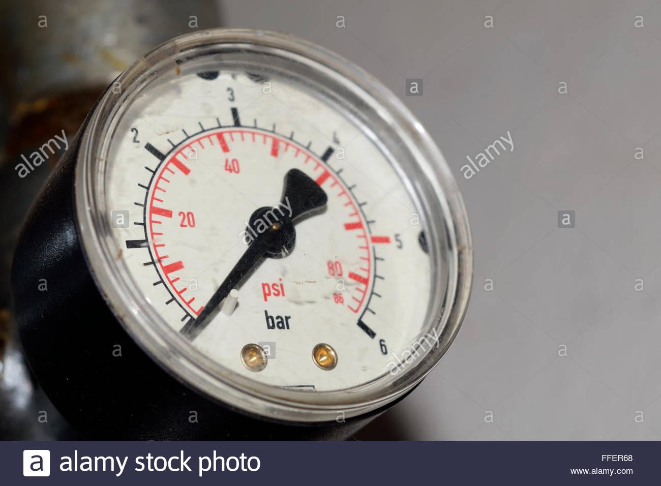 Barometer - Stock Image
