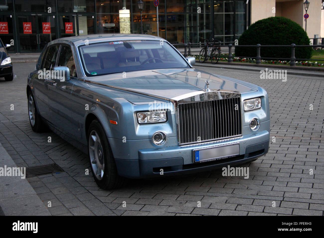 Rolls Royce Phantom. - Stock Image