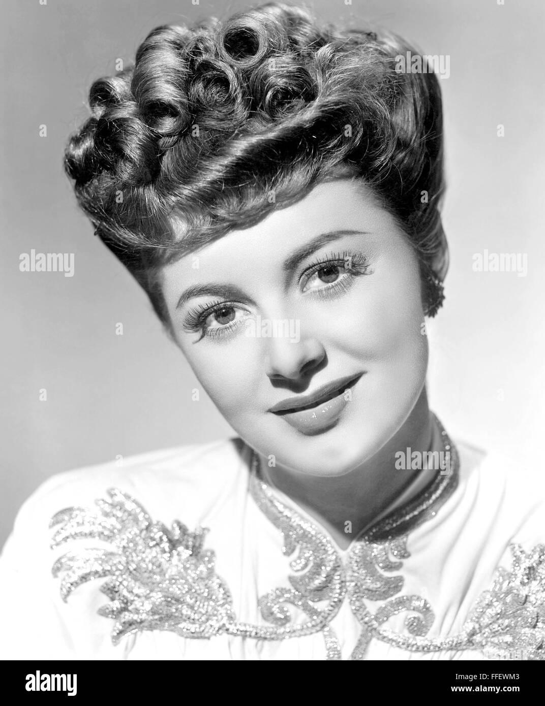 OLIVIA de HAVILLAND  US film actress about 1937 - Stock Image