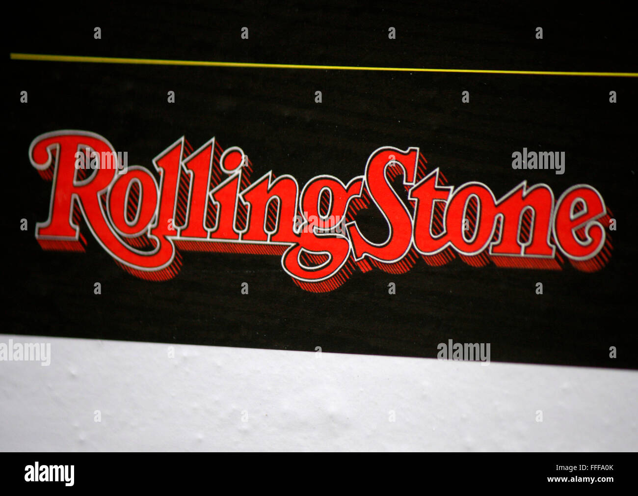 Markenname: 'Rolling Stone', Berlin. - Stock Image