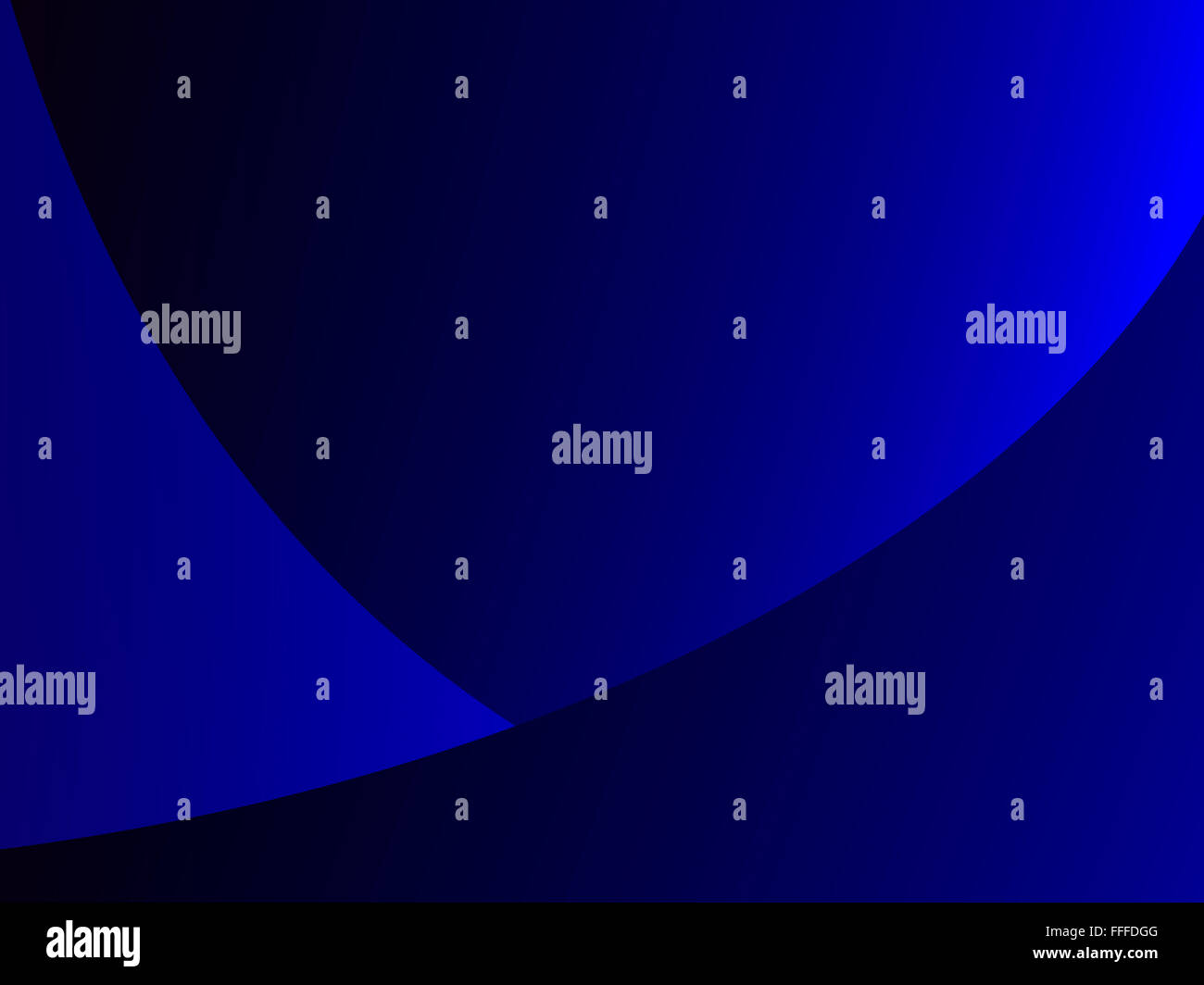 Abstract dynamic decorative gradient dynamic blue background - Stock Image