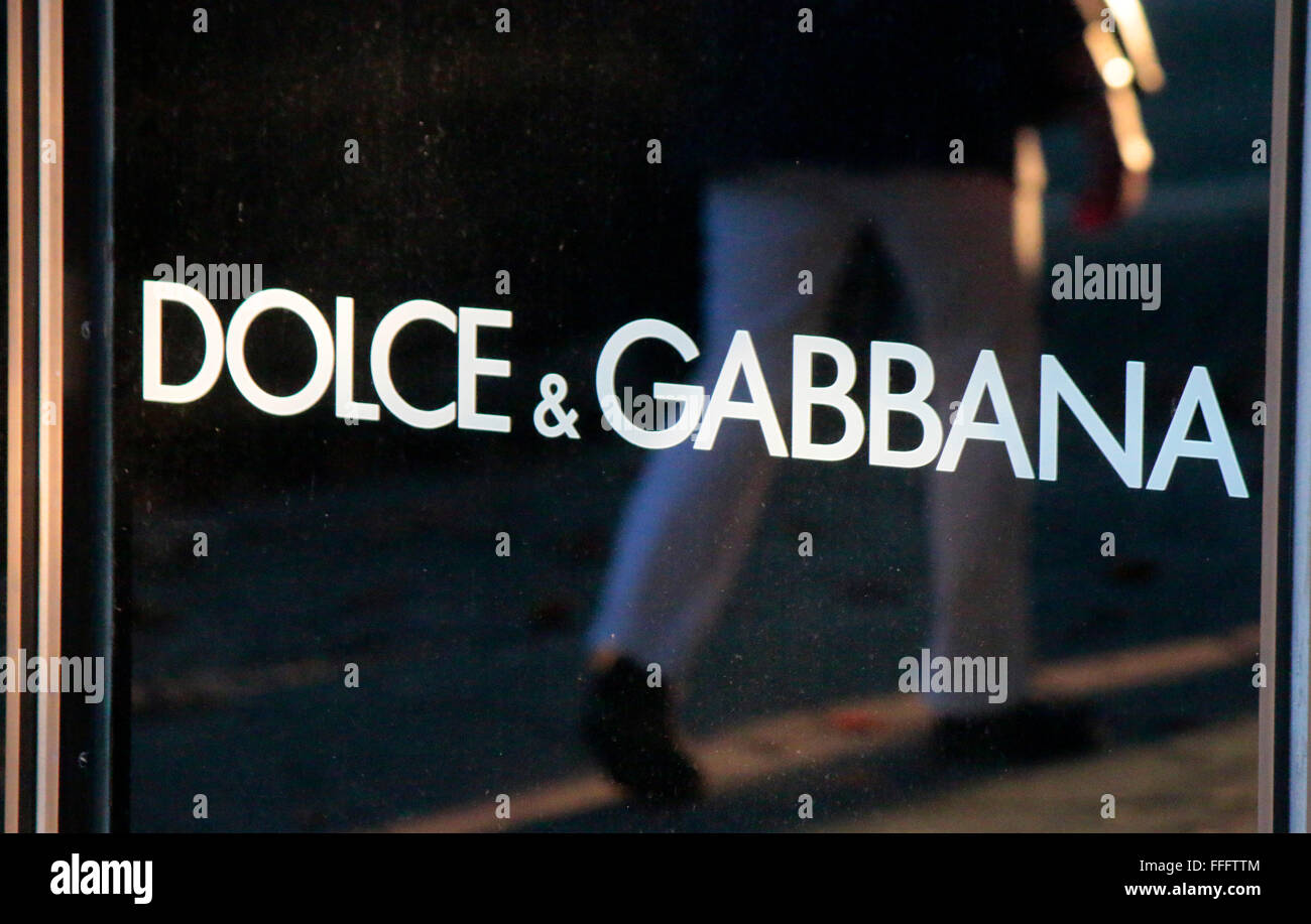 Markennamen: 'Dolce Gabbana', Berlin. - Stock Image